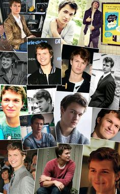 ♡♥Ansel♡Elgort♥♡ Tfios, Divergent, Bestest Friend, Best Friends, Im In Love, I Love Him, Caleb Prior, Best Young Actors, Augustus Waters
