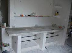 diy waschtisch aus beton cir waschtisch selbst bauen und w nde. Black Bedroom Furniture Sets. Home Design Ideas