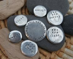 i create space . soul mantra pocket talisman by lizlamoreux