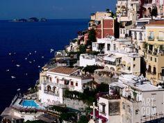House Terraced into Amalfi Coastline, Positano, Italy Photographic Print by Dallas Stribley at Art.com