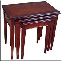 table nest, Thomas Sheraton style