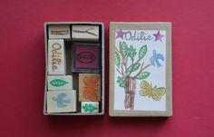 La Fabutineuse: Boîte de tampons pour un anniversaire