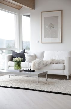 #white #modern #living_room