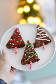 Christmas Brunch, Christmas In July, Christmas Ideas, Christmas Crafts, Fall Desserts, Christmas Desserts, Tea Party Snacks, Decoration Christmas, Brownies