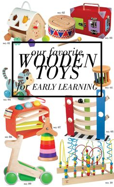Top Wooden Toys for Early Learning