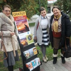Public witnessing in Romania. Photo shared by @ariana.lazar27
