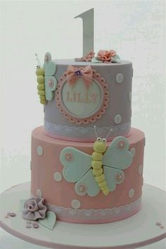 Babys First Birthday Cake Designs Baby Girl Ideas For 1 Year Old