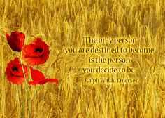 Establish a sense of who you want to become.