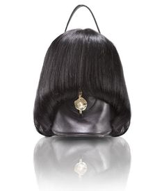 human hair purse...ewwwwwwwwwww, no.