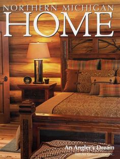 log cabin decor | ... Rustic Furnishings, Log Bed, Cabin Decor, Harvest Tables, Mission Beds