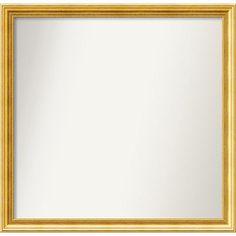 Amanti Art Townhouse Gold Mirror Size: