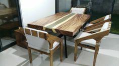 Resin Table, mesa con resina