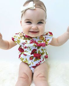 Girls' Baby Clothing 2pcs Newborn Infant Baby Girl Bodysuits Kids Red Plaid Bodysuit Jumpsuit Headband Outfit Baby Backless One Piece Clothes 0-18m Good Companions For Children As Well As Adults