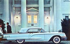 Old 1960 Ford Thunderbird AD