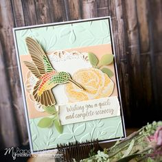 Mercedes Weber @ My Paper Paradise: Mosaic Mood Class Project Punch Out, Stampin Up Catalog, Bird Cards, Class Projects, Get Well Cards, Card Sketches, Memorable Gifts, One Design, Stampin Up Cards