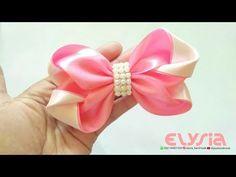 Ribbon Bow | DIY by Elysia Handmade - YouTube