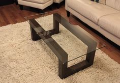 Fife Coffee Table Stained Walnut by GalahadFurniture on Etsy