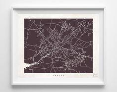 Tralee Street Map Print
