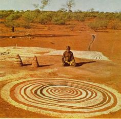Timeless desert Art A reminder of how the spirit of the land can be captured best by peoples who have explored it intimately...