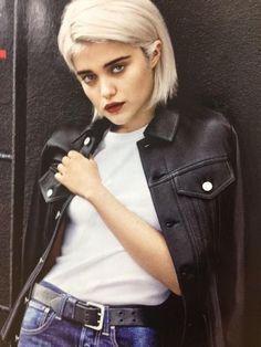 Image result for sky ferreira short hair
