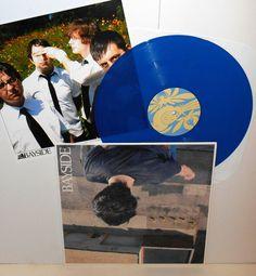 BAYSIDE s/t Lp Record BLUE Vinyl Record with lyrics insert , victory records #AlternativeIndieEmo