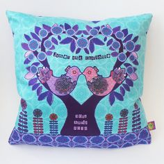 Personalised Wedding Gift Cushion / Pillow by MelissaJayneDesign