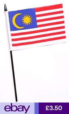Malaysian Flag Metal Pin Badge malaysia malay asia world cup kuala Brand New