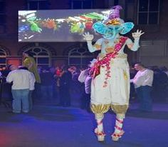Our brilliant stilt walkers are available for hire for private functions in London & the UK.