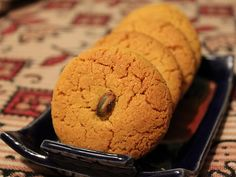 Whenever I think about my visits to bakeries during childhood, I distinctively remember Nan khatais, those soft crumbly cookies which were hollow…