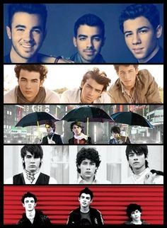 The Jonas Brothers ♥ I miss the old days! :( But thankfully, they're releasing a new album this year!!! :D