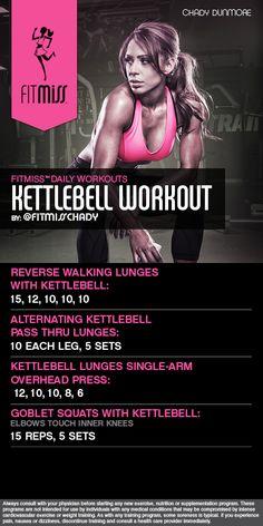FitMiss Kettlebell Workout