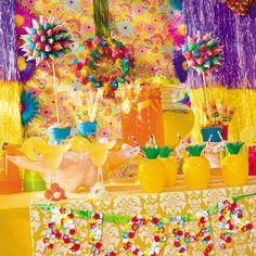 Aloha Table Setting - OrientalTrading.com