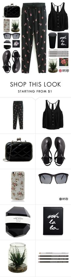"""// OASAP #4 //"" by theonlynewgirl ❤ liked on Polyvore featuring Aéropostale, ASOS, Polaroid and Kate Spade"