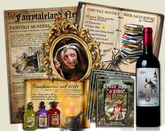 Fairy Tale Party Game murder mystery ONCE by MurderMysteryGames Mystery Dinner Party, Dinner Party Games, Mystery Parties, Dinner Parties, Murder Mystery Games, Mystery Novels, Fairytale Party, Menu Cards, Disney Trips