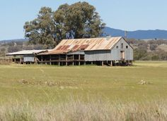 Rustic Shearing Shed in Rural Australia. Went to a dance in one of these. Great music and fun.