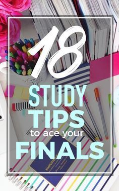Great Study Tips To Ace Your Finals