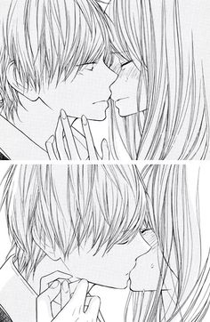 Cute anime couples... I feel like I've read this manga before...