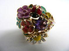 Dior Diorette 18K Yellow Gold Ring
