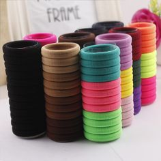 24 PCS Candy Colored Hair Holders High Quality Rubber Bands Hair Elastics Accessories Girl Women Tie Gum  Mix Colors TS003♦️ SMS - F A S H I O N 💢👉🏿 http://www.sms.hr/products/24-pcs-candy-colored-hair-holders-high-quality-rubber-bands-hair-elastics-accessories-girl-women-tie-gum-mix-colors-ts003/ US $1.43