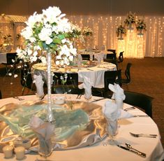 An option for decorating the Otter Creek Event Center at Black Bear Casino Resort. #MYPLACEforWeddings #MYPLACEforEvents #BlackBearCasinoResort #Wedding