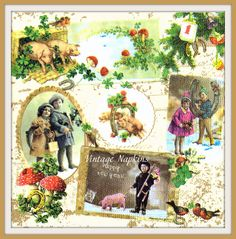 A personal favorite from my Etsy shop https://www.etsy.com/listing/293187383/sale-two-paper-napkins-for-decoupage