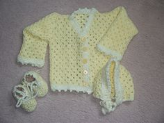 CROCHET BABY SET     DISCLAIMER  First and foremost I take no credit for any of the FREE pattern links on this page none of these are any ...