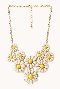 Daisy Darling Bib Necklace | FOREVER21 - 1000088230