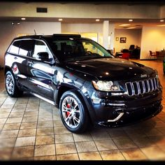 Want. The New 2012 SRT8 Jeep Grand Cherokee