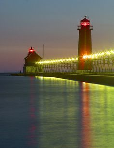 Grand Haven, MI. by John Dykstra