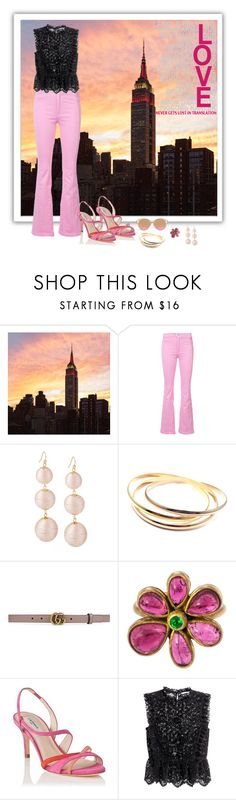 """""""New York State Of Mind"""" by janetvera ❤ liked on Polyvore featuring Givenchy, Cartier, Gucci, Judy Geib, H&M, polyvorecommunity, polyvorefashion and generalgroups"""