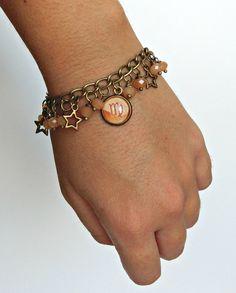 Zodiac bracelet, Personalized bracelet, Zodiac jewelry, Stars bracelet, Zodiac friendship bracelet, Friendship gift