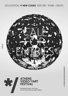 CALL FOR ENTRIES | NEW CODES */ ATHENS VIDEO ART FESTIVAL 2012