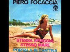 Piero Focaccia - Stessa spiaggia, stesso mare (1963) 70s Songs, Ancient Rome, Pop Music, Beach Mat, Youtube, Mamma, Albums, Ethnic, Italia