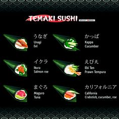 Sushi by sahua di, via Behance